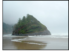 Neskowin in the State of Oregon